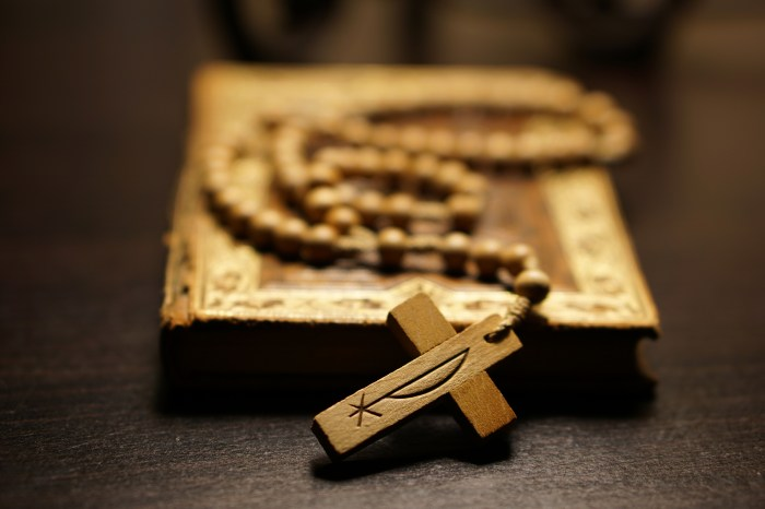 September 14th - Book and Rosary