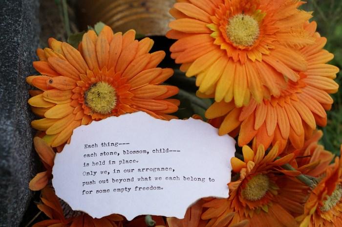 September 11th - Rilke