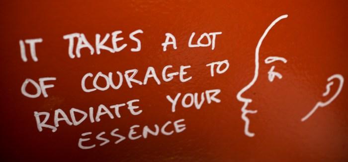 Jan. 14: Courage