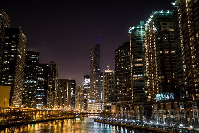 March 24th: Chicago at Night