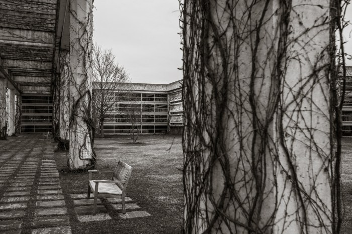 March 14th: Courtyard