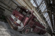 July 8th: Abandoned fire truck, Bloomington