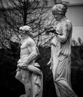 Sept. 28th: Abandoned Statuary (Danville, IL)