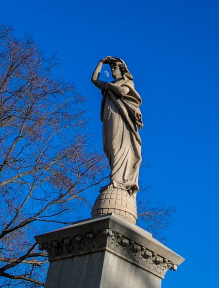 March 1: Moon Statue
