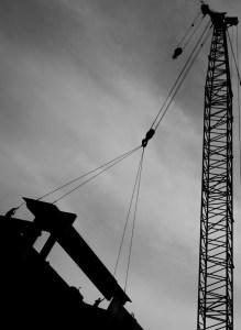 April 30: Construction on the Monon