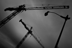 May 27th: Cranes and Lightpost