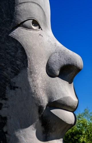 June 19: Statue in Bloomington
