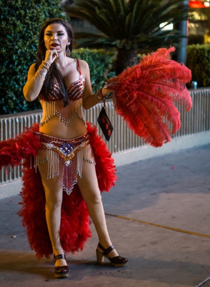 Sept 28: Vegas Dancer