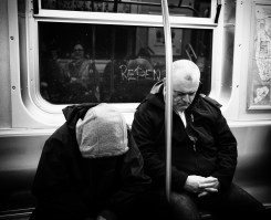 Dec 25: Repent on the NYC Subway