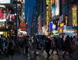 May 7: Times Square at Night