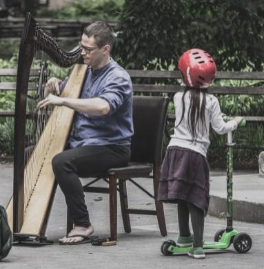 May 16: Harp Player