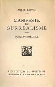 First Manifesto of Surrealism