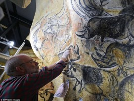 Chauvet Cave Art Paintings France