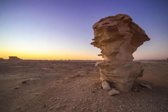 White Desert egypt otherworldly landscapes