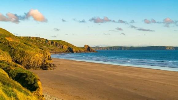 Newgale Beach best coastal routes britain paddleboarding