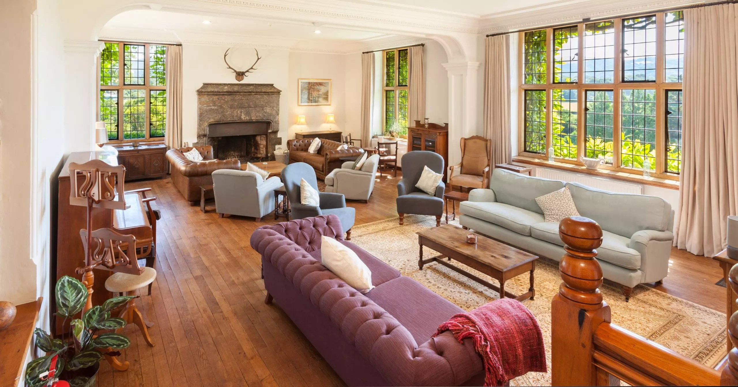 Bossington Hall lounge