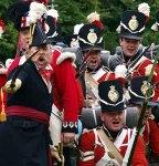 French foot soldiers Waterloo Belgium Europe by Joseph Jeanmart/Whybelgium.co.uk