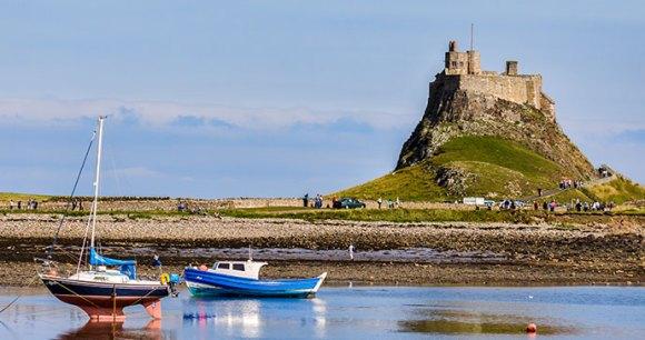 Lindisfarne Castle Lindisfarne Northumberland England UK by Philip Bird LRPS CPAGB Shutterstock