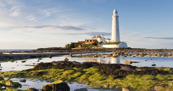 St Marys lighthouse Whitley Bay Northumberland England UK by Dave Head Shutterstock