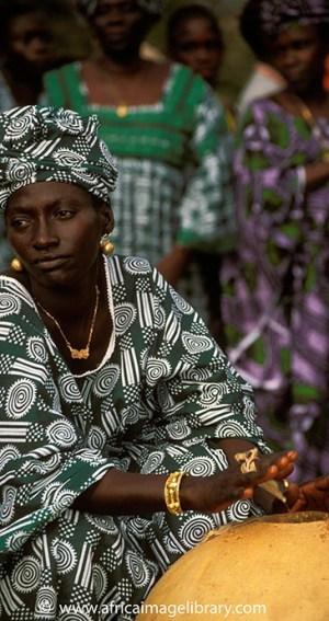Traditional band, Roots festival, Banjul, The Gambia by Ariadne Van Zandbergen