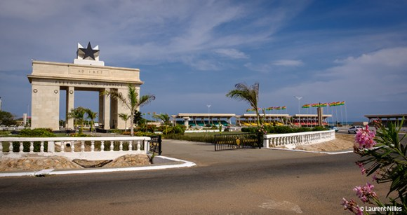 Black Star Gate, Accra, Ghana © Laurent Nilles