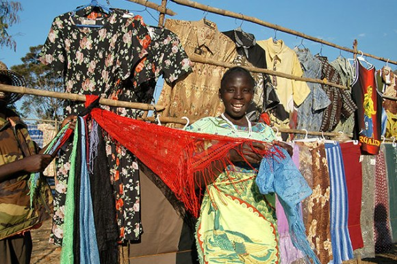 Clothing for sale Malawi by Malawi Tourism