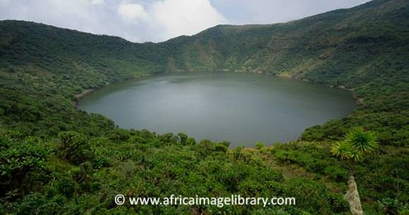Mount Bisoke Crater in Rwanda by © Ariadne Van Zandbergen, Africa Image Library