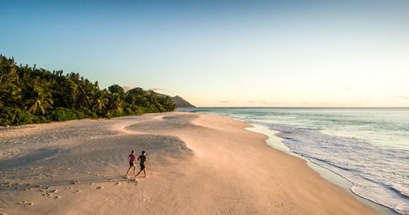 North Island beach Seychelles by A Johnson, Wilderness Premier, North Island
