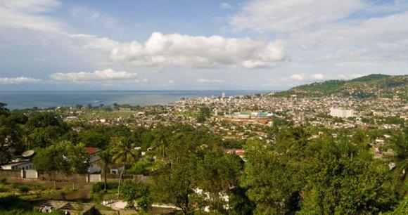 Freetown view © National Tourist Board of Sierra Leone