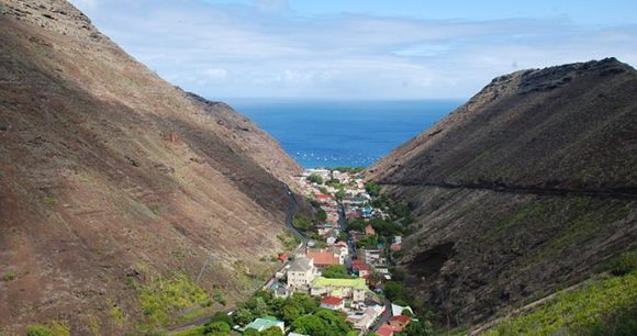 Jamestown St Helena by Tricia Hayne