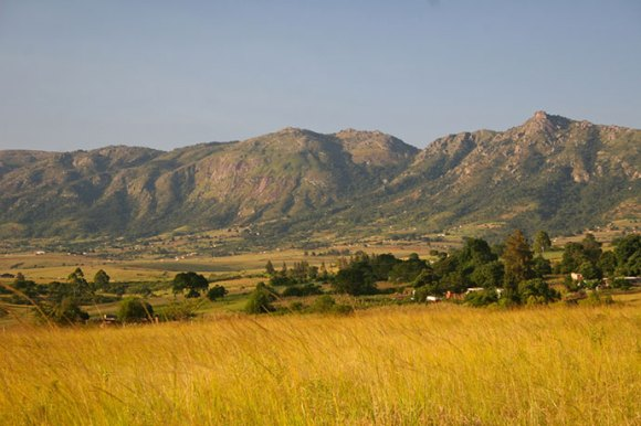 The Mdzimba Mountains Swaziland Africa by Mike Unwin