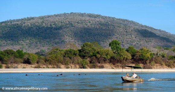 Rufiji River Selous Game Reserve Tanzania by Ariadne Van Zandbergen