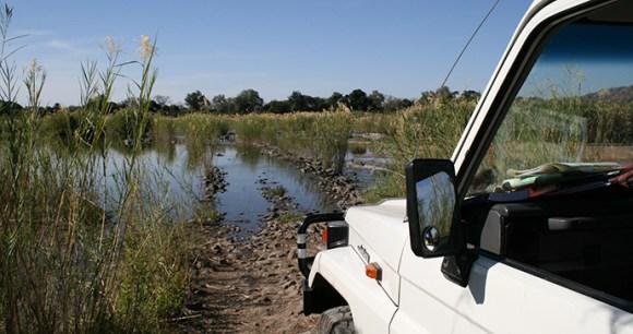 Self-drive Runde River Madau Crossing Zimbabwe by Paul Murray