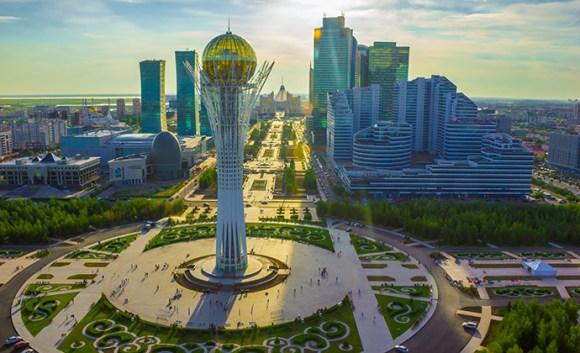 Baiterek Tower Astana Kazakhstan by EXPO-2017 National Company