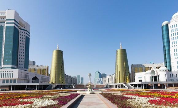 Ak Orda Astana Kazakhstan by vadimfogel, Shutterstock