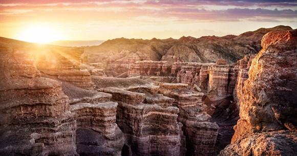 Charyn National Nature Park Almaty Region Kazakhstan by Pikoso.kz, Shutterstock