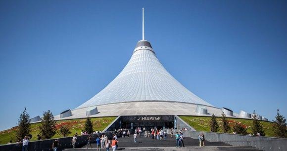 Khan Shatyr Astana Kazakhstan by freedarst, Shutterstock