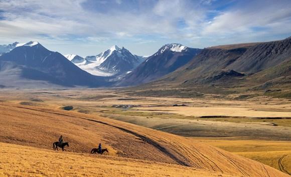 Kazakh steppe Kazakhstan by Aureliy, Shutterstock