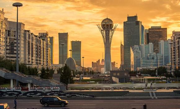 Northern Lights Astana Kazakhstan by Tracey Ben, Shutterstock
