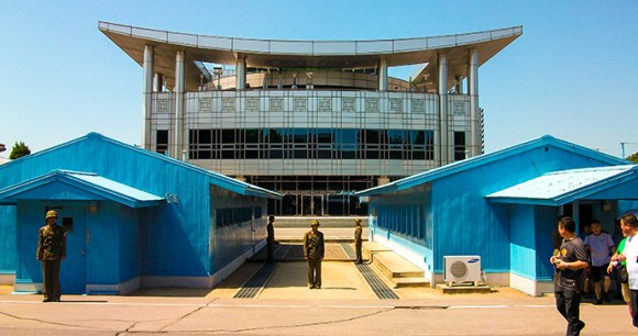 Panmunjom and the DMZ North Korea by Chintung Lee, Shutterstock