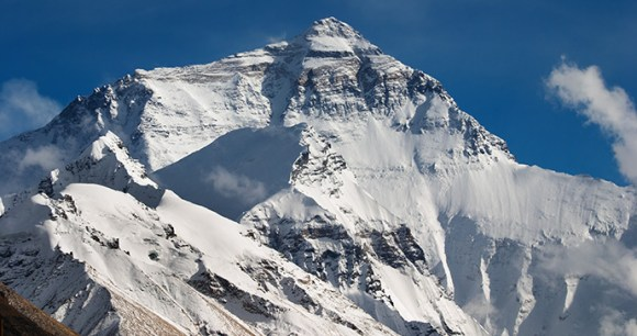 Everest's north face Tibet China by Dmitry-Pichugin, Shutterstock
