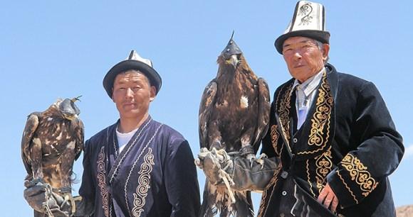 Eagle hunting, Kyrgyzstan by Maximum Exposure PR, Shutterstock