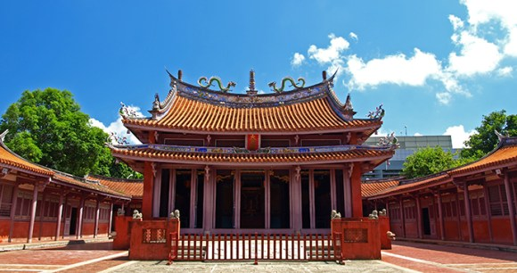 Confucius Temple Tainan Taiwan by Z H Chen Shutterstock