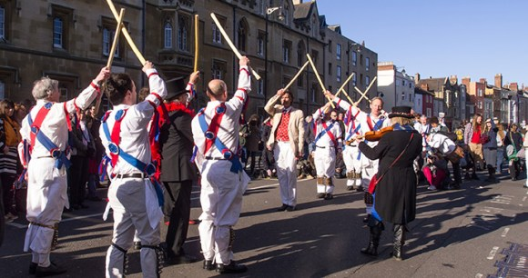Morris dancers May Morning Oxford by Ed Webster Flickr