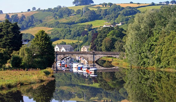 River Dart South Devon Britain by jennyt Shutterstock