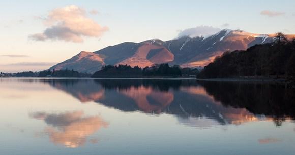 Derwent water Cumbria Britain by Joe Dunckley Shutterstock