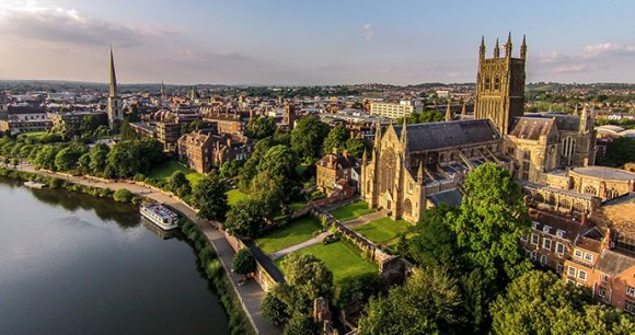 Worcester England UK by Brightskyvideos/DT