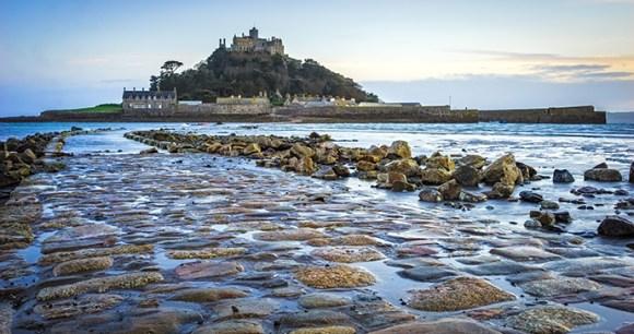 St Michael's Mount Cornwall UK by Ian Woolcock, Shutterstock