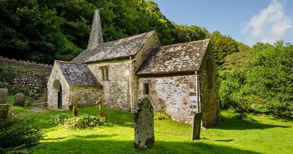 Culbone church, North Devon, UK by Nigel Stone, ENPA