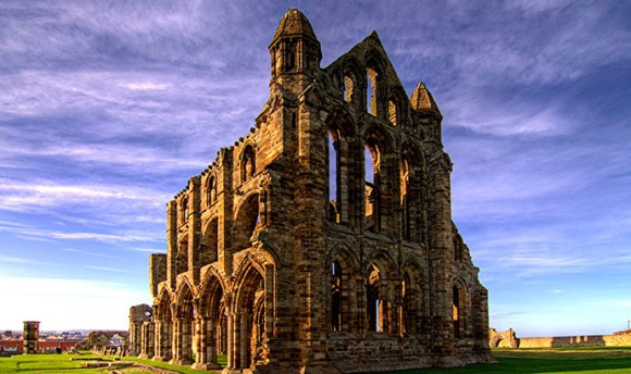 Whitby Abbey, Whitby, Yorkshire, Chris Kirk, Wikimedia Commons
